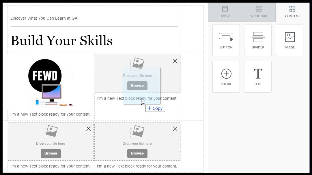 Email simplicity workshop: adding images