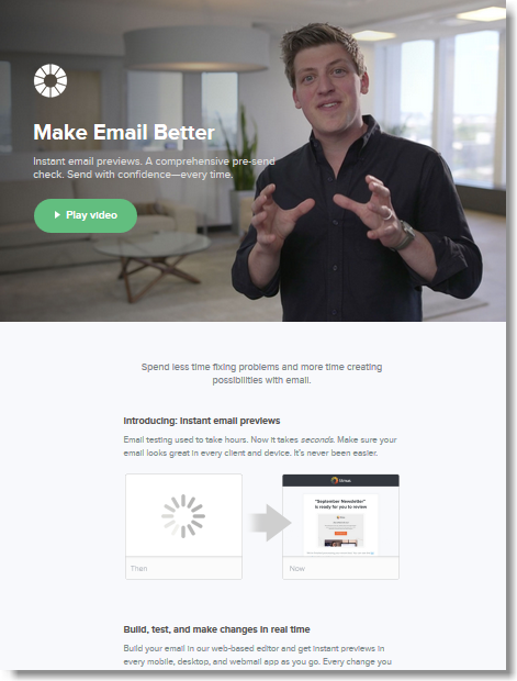 build html email