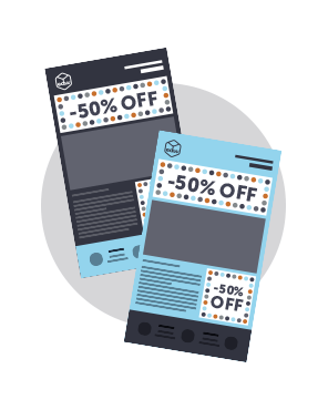 Design tips for email deals and discounts