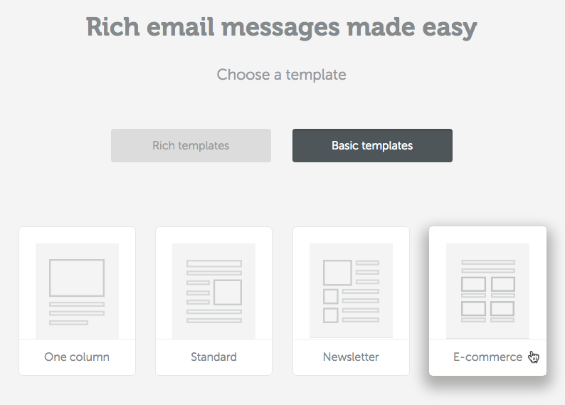 tutorial how to optimize multiple column email design email