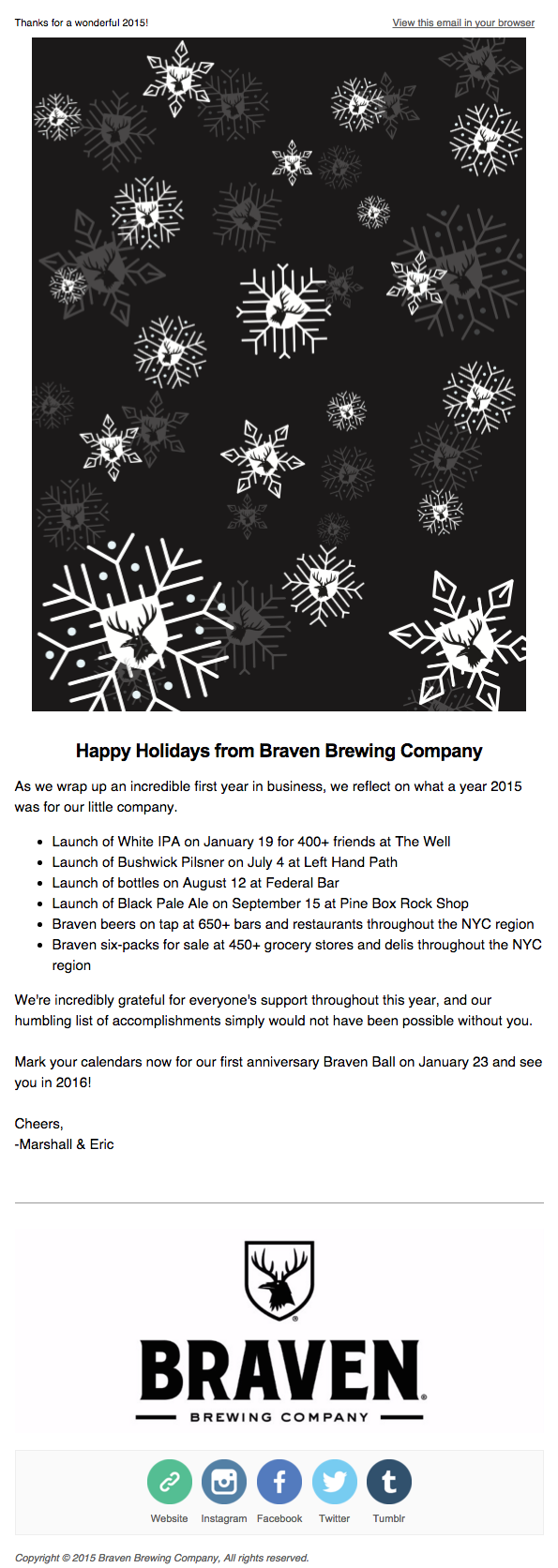 Design Tips For Seasons Greetings And Thank You Emails Email