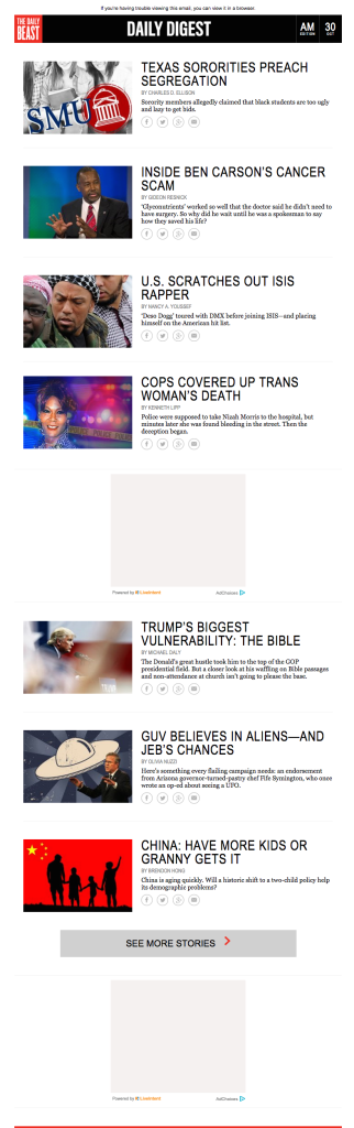 daily beast no ads trimmed