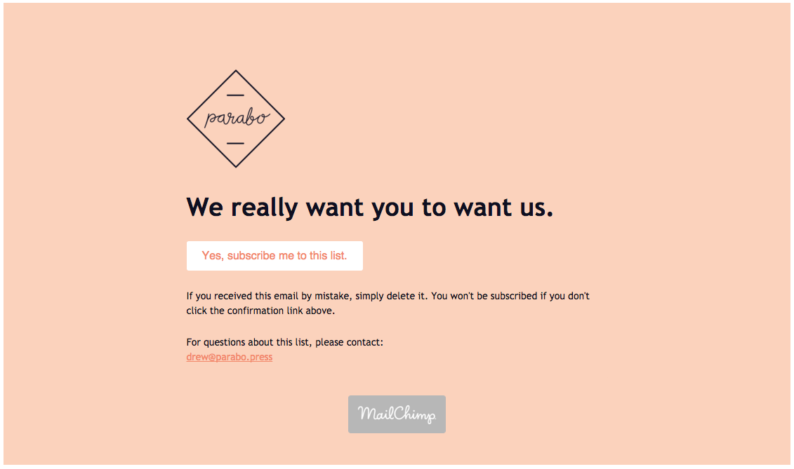 Design A Standout Subscription Confirmation Email Email Design