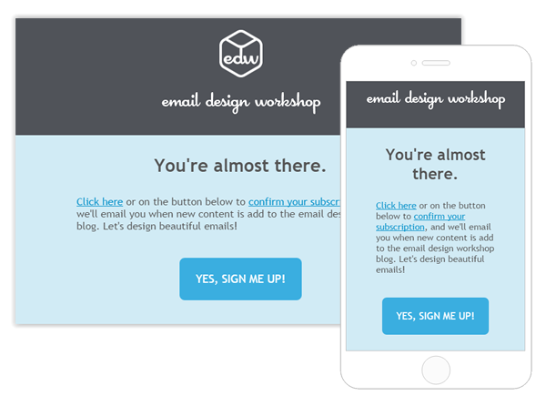 Best Practice Email Template Design