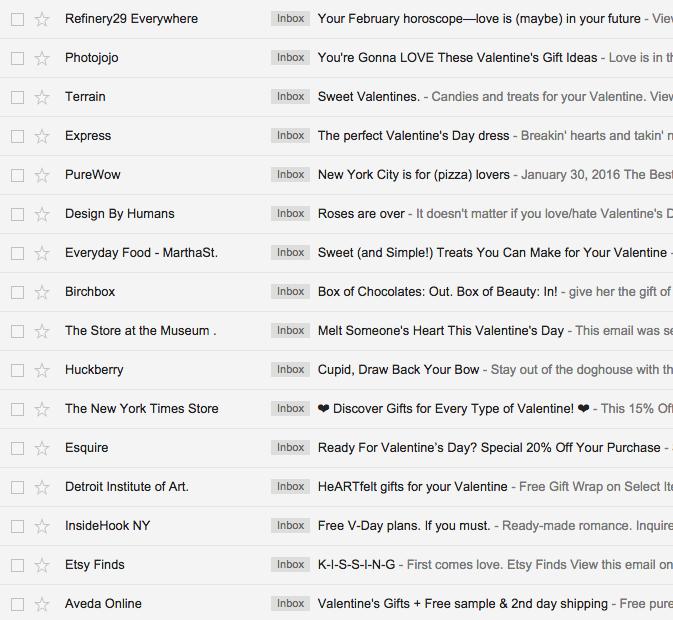 Valentine S Day Emails Design Tips We Love Email Design Workshop