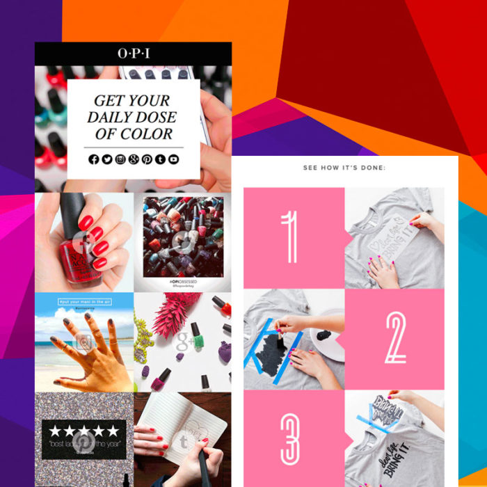 10 Creative Ways to Use Color in Email