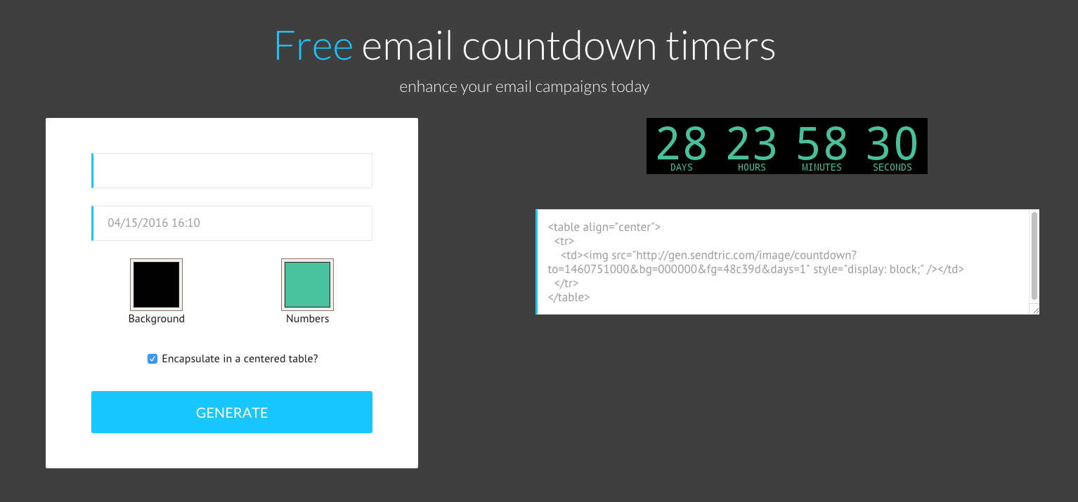 Tutorial: How to add a countdown timer in email - Email Design Workshop