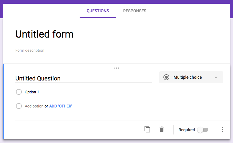 Google Forms email design tools