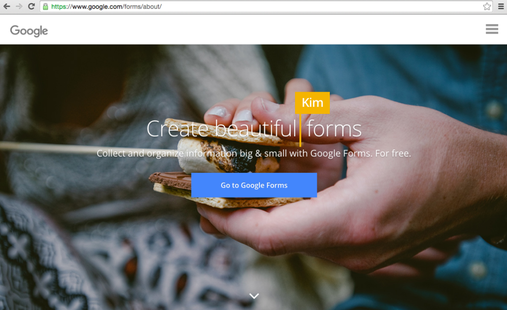 Google Forms one-question survey email