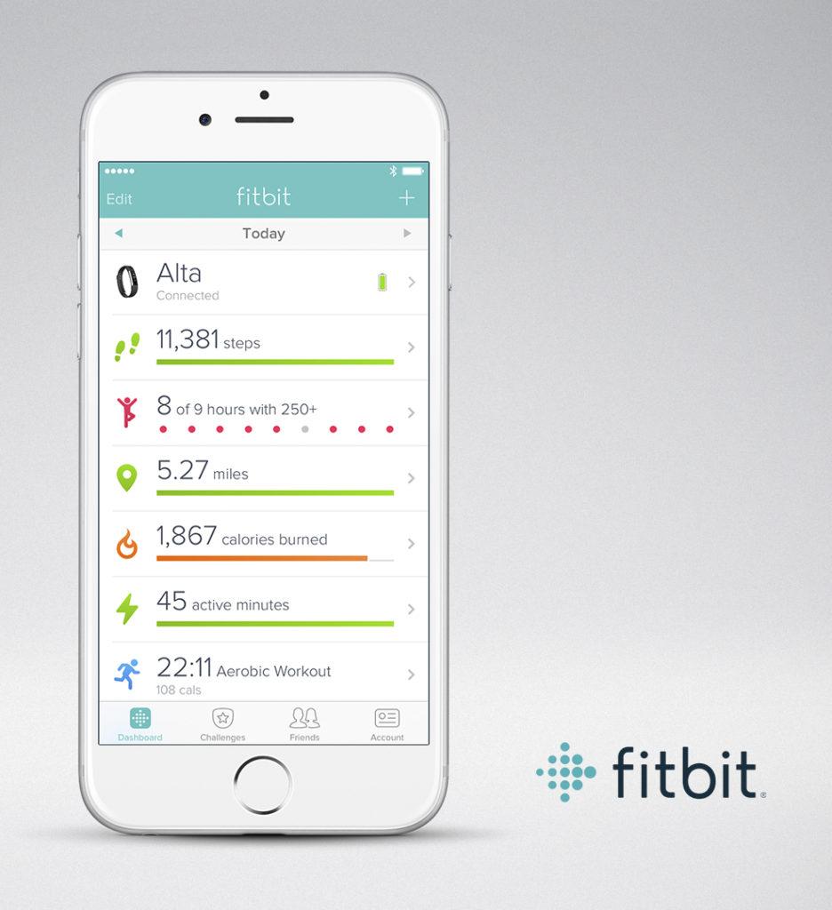Fitbit email stream design