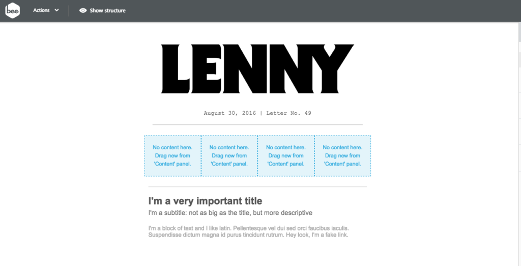 lenny anchor links in email