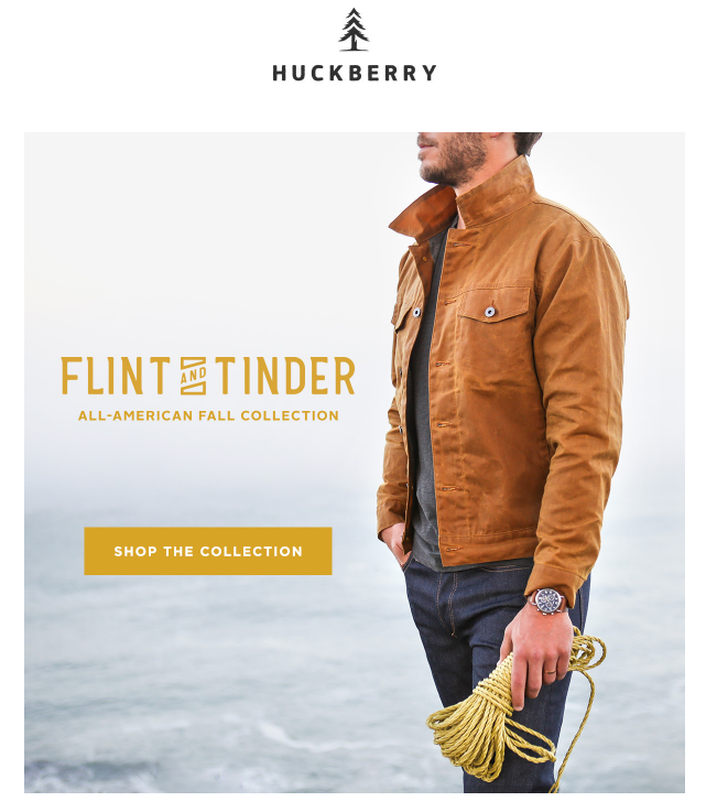 huckberry email background images