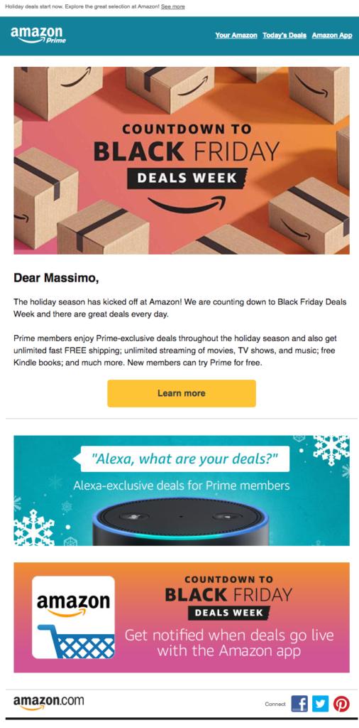 amazon prime black friday email