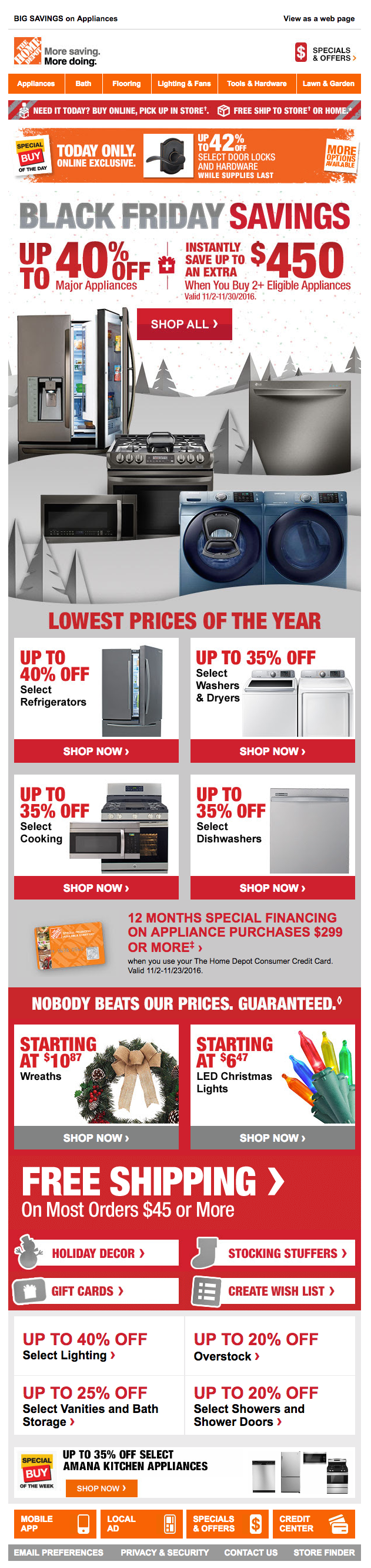 home depot black friday email