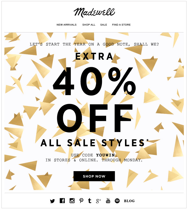 9a536f8100 7 Fresh Design Ideas for Your New Year s Email Marketing