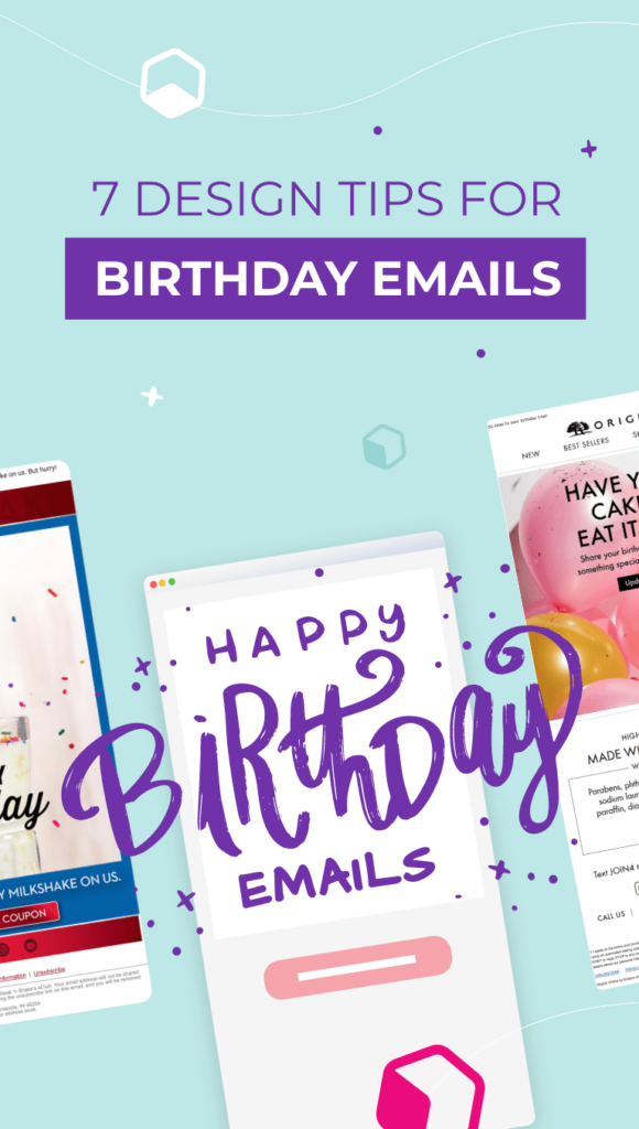3 birthday emails