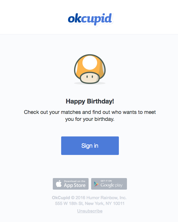 7 Design Tips for Birthday Emails - Email Design