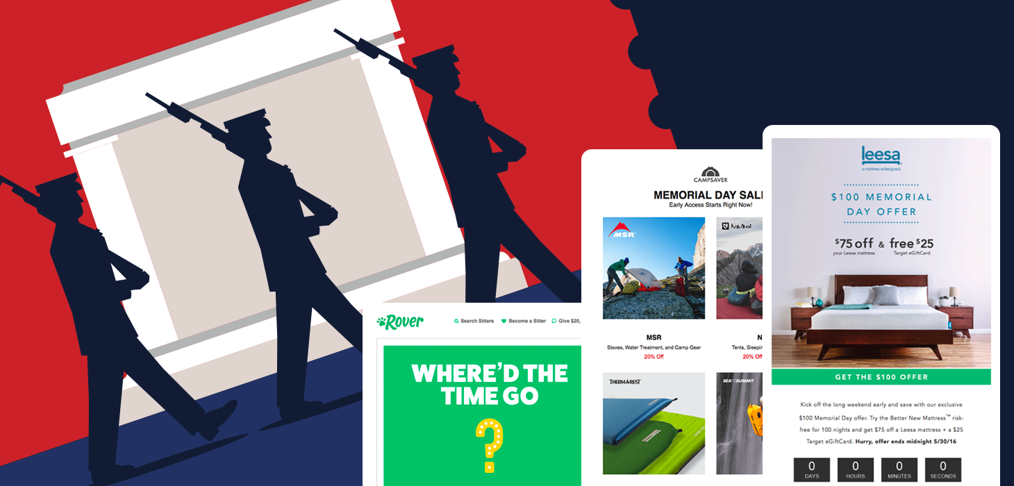 5 Memorial Day Email Design Trends You Shouldn't Miss