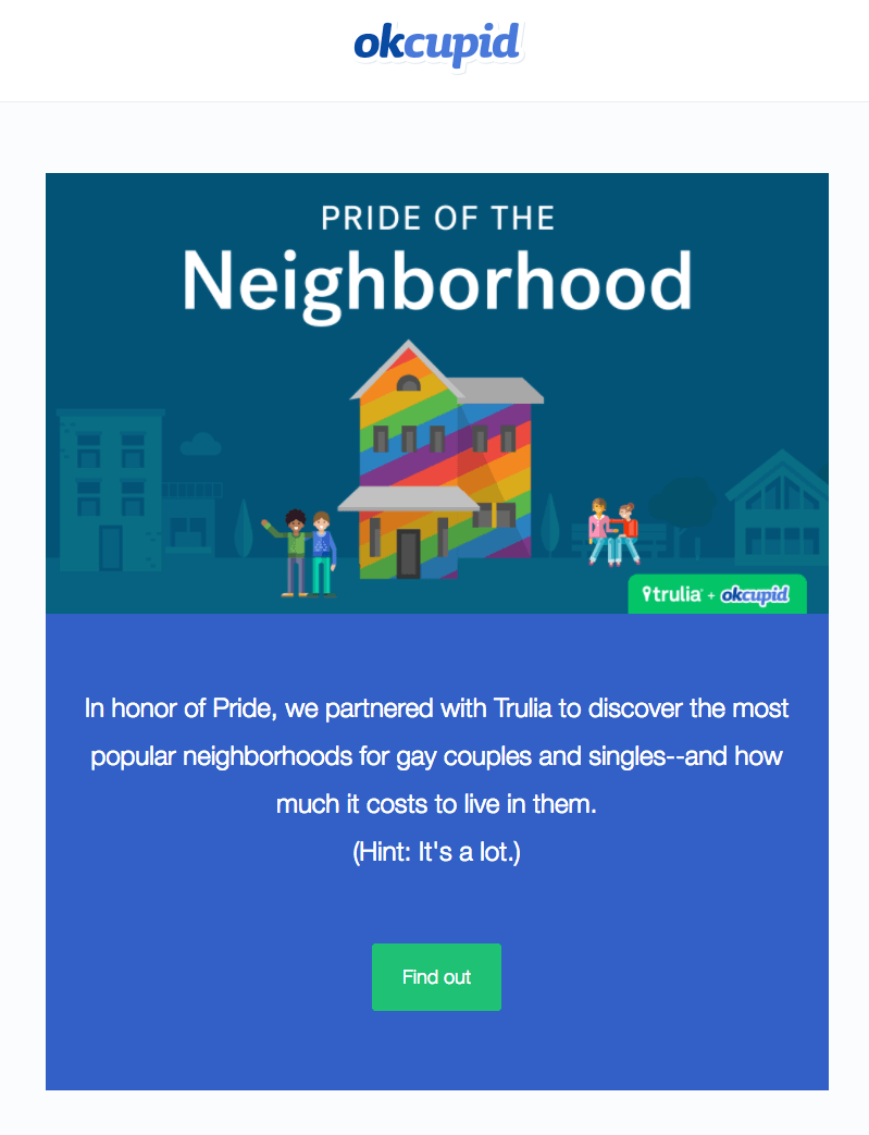 Pride Month Email Designs