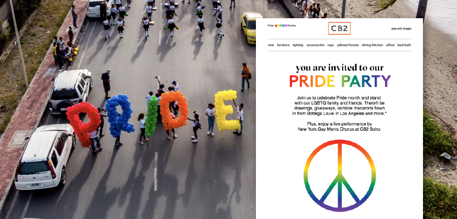Pride Month Email Designs We Love