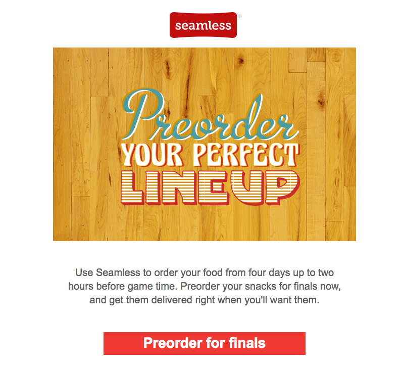 seamless email design