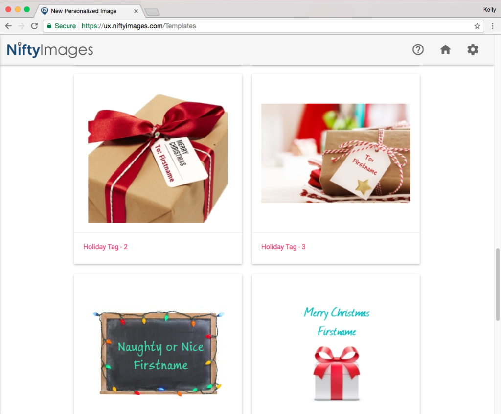 Nifty Images Christmas in July