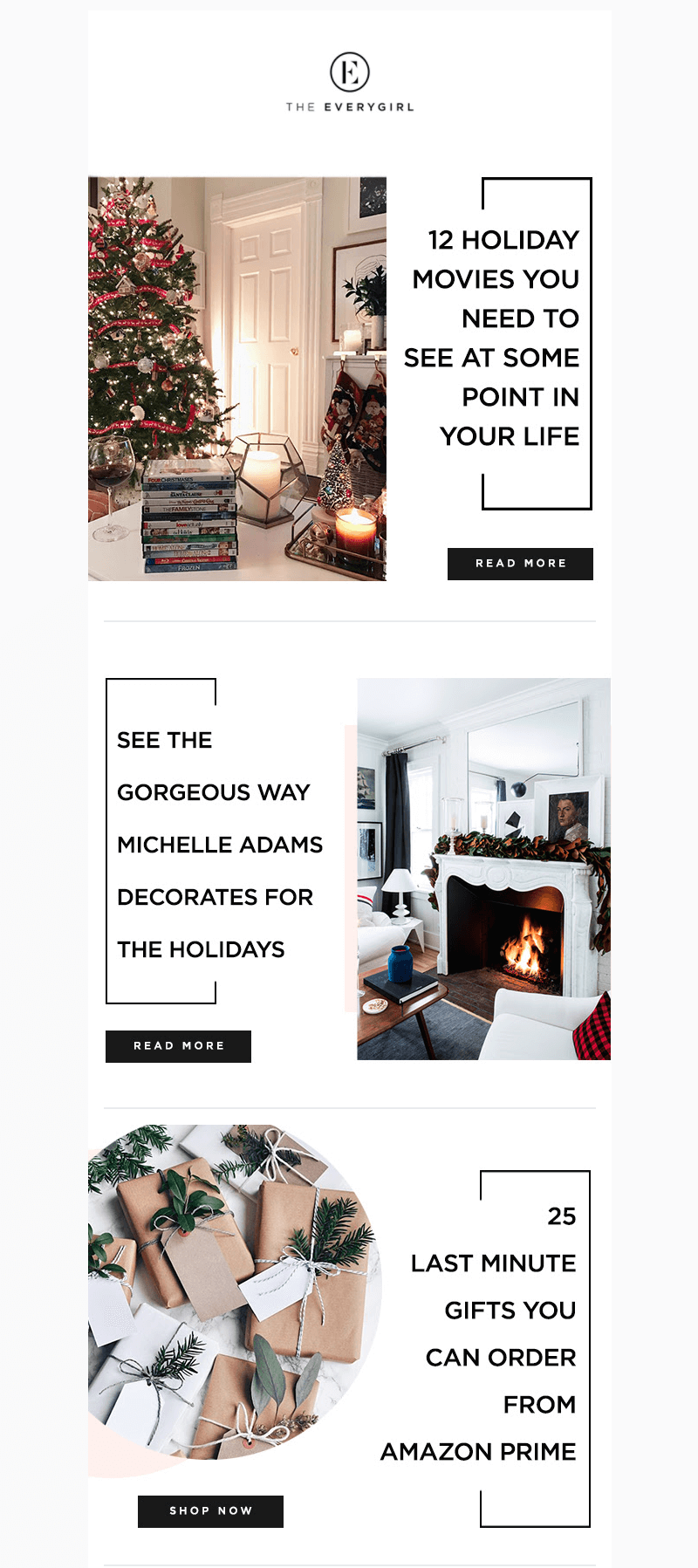 The Everygirl Christmas in July