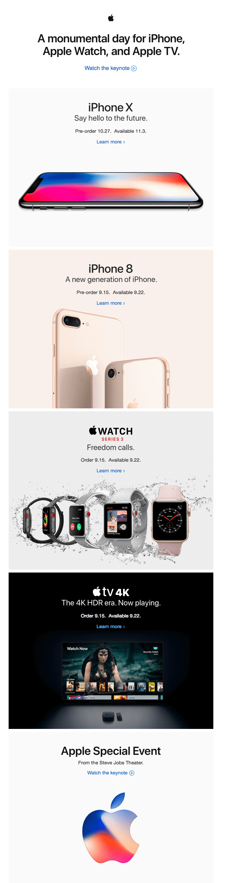 iphone x email
