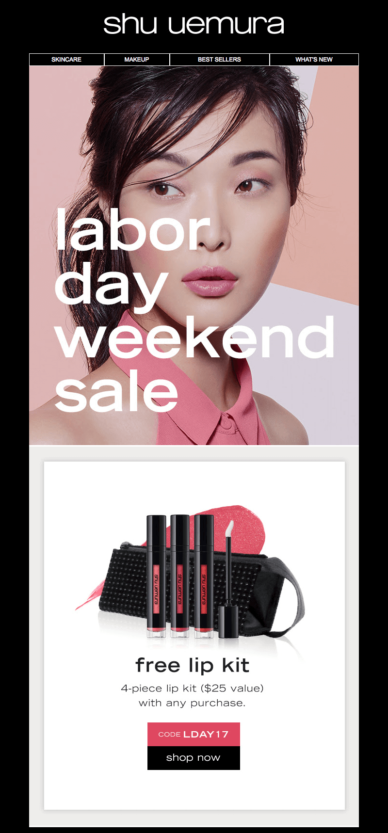 Labor Day weekend emails