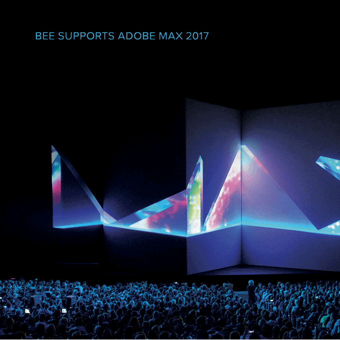 Email Designers: 3 Reasons to Meet BEE at Adobe MAX 2017
