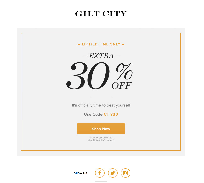 gilt city autumn emails