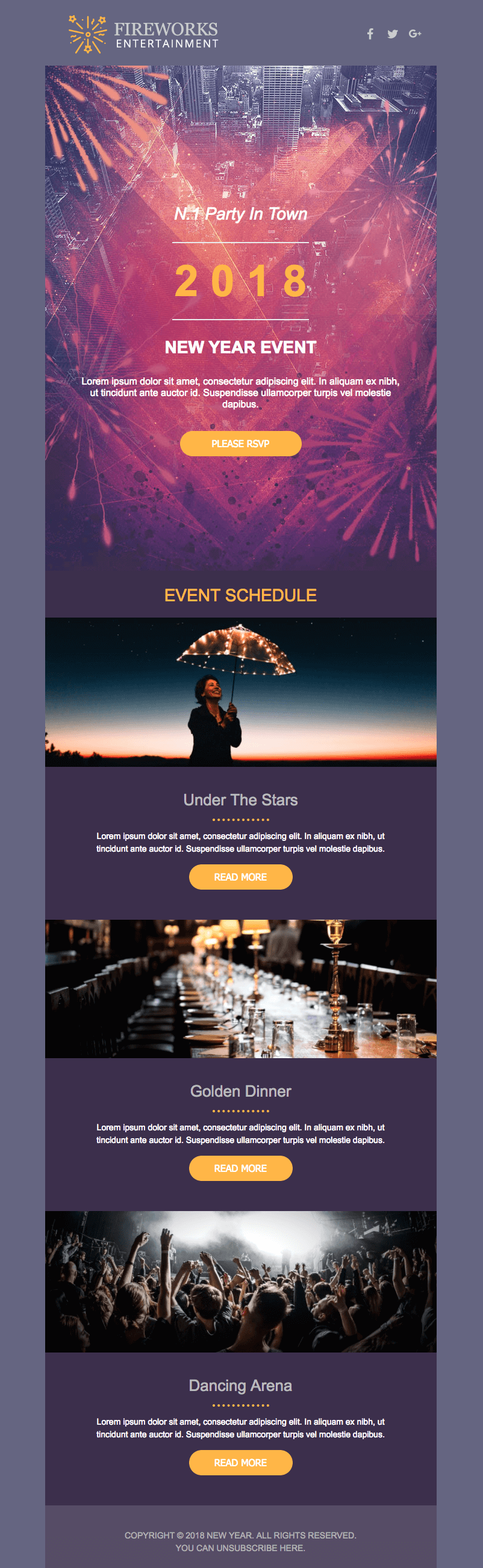 New Years Email Design Get A Free Template Fresh Tips - How to design an email template