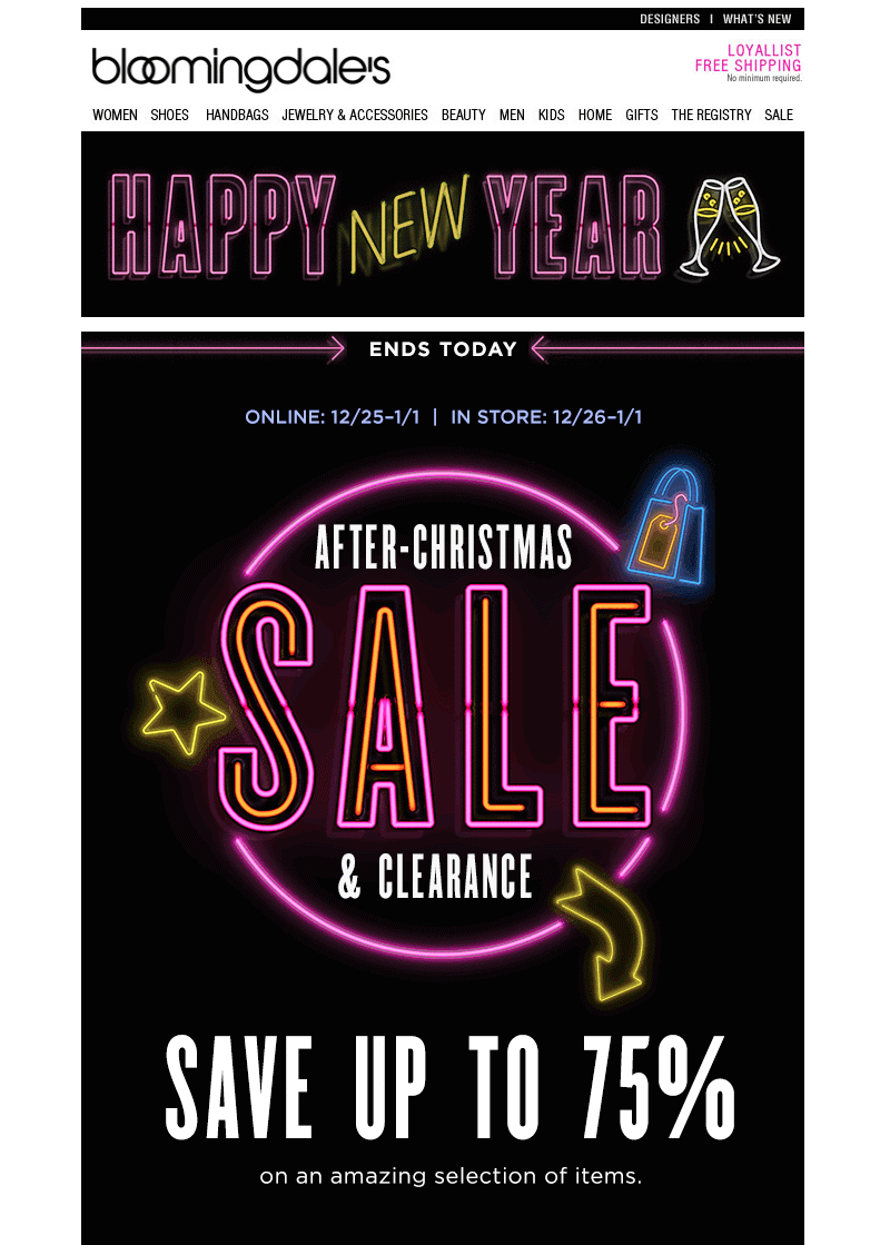 2018 new year s email design get a free template fresh tips