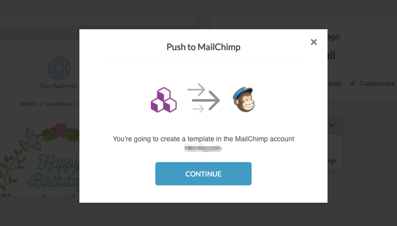 BEE Mailchimp Connector