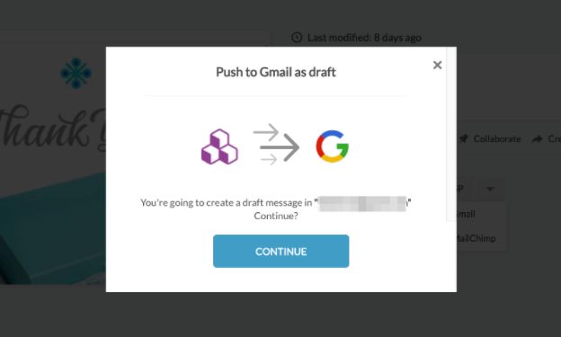 How to send BEE emails in Gmail