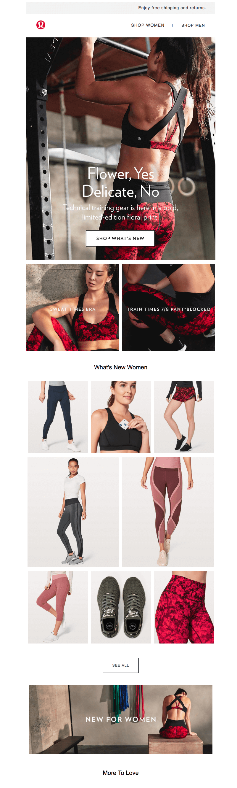 Lululemon fitness brands