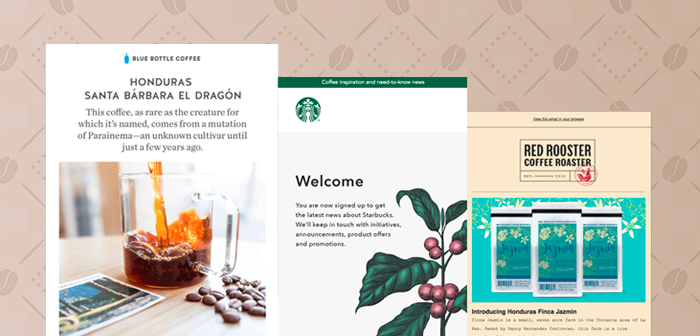 Coffee Industry Emails With Well-Brewed Designs