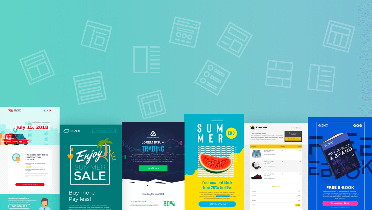 Creating Email Marketing Campaigns with BEE Pro Email Templates