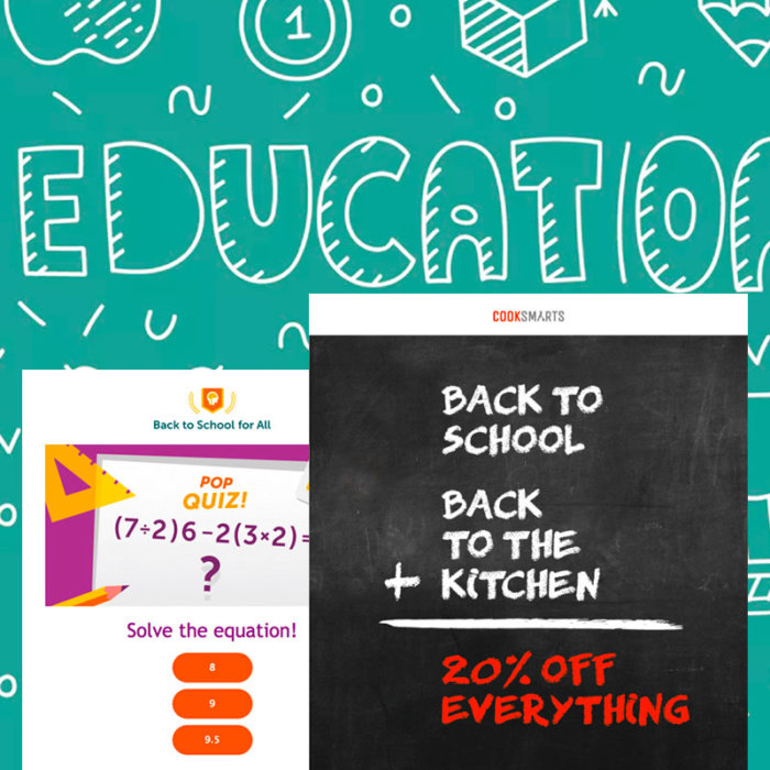 10 Back-to-School Sales Emails at the Top of Their Class