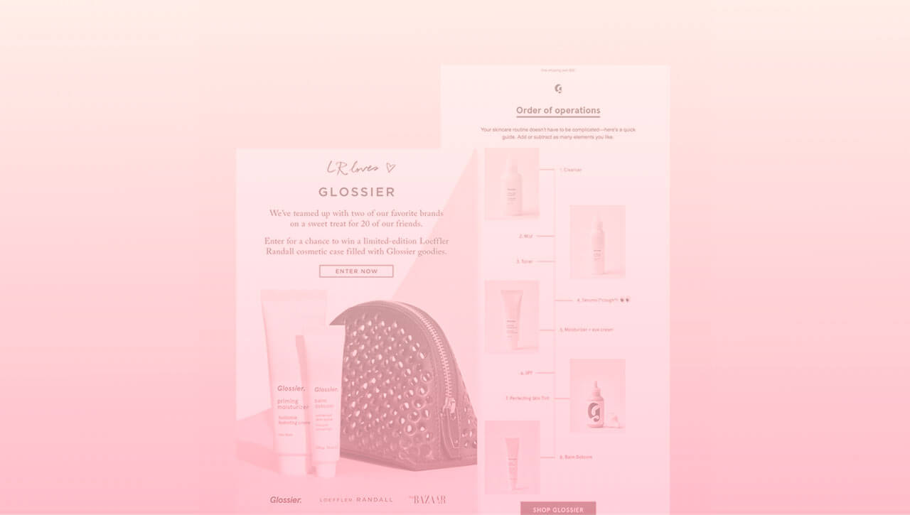 How Glossier Built a Beautiful New Product Email Campaign