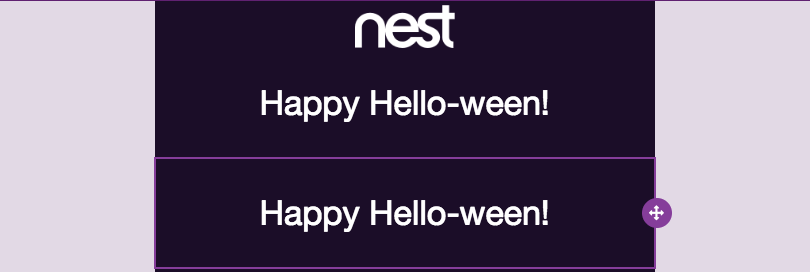 responsive Halloween email