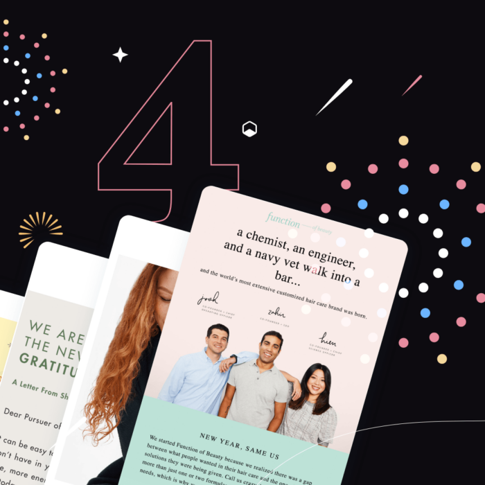 4 Ways to Send a Happy New Year Email With Great Design