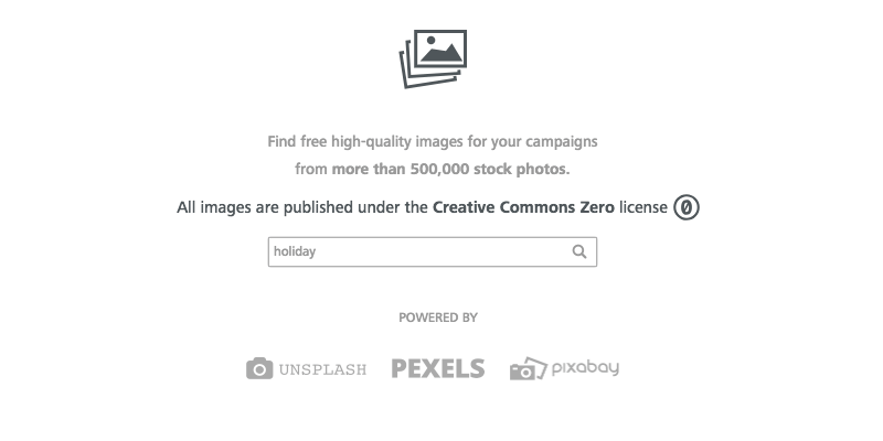 find images for email marketing