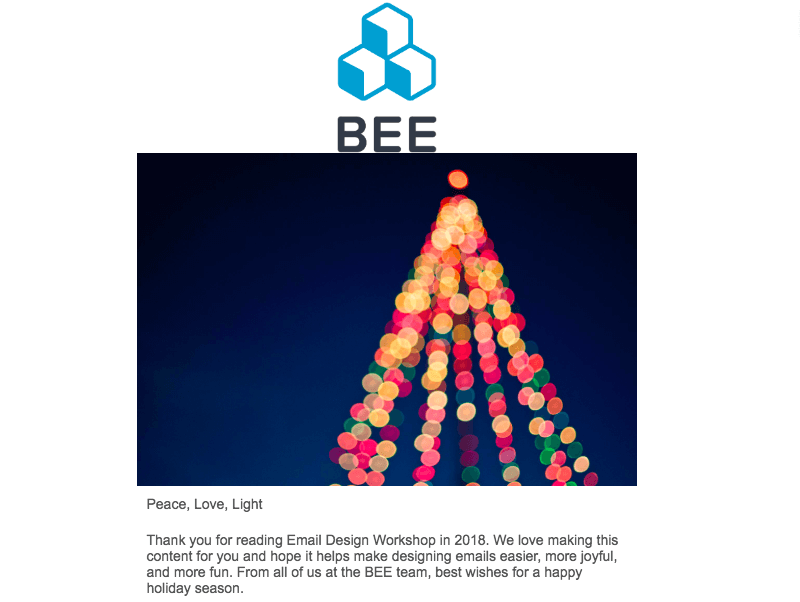 christmas ecard for business