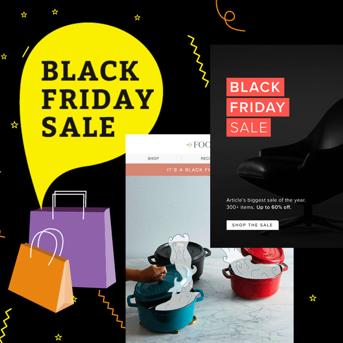 5 Pro Tips for Black Friday Cyber Monday Email Design
