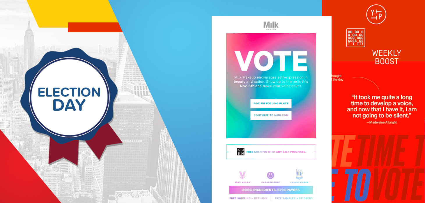 Election Day Emails: Which Brands Are Getting Out the Vote?