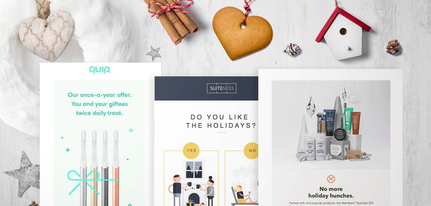 12 Sensational Holiday Emails for Business