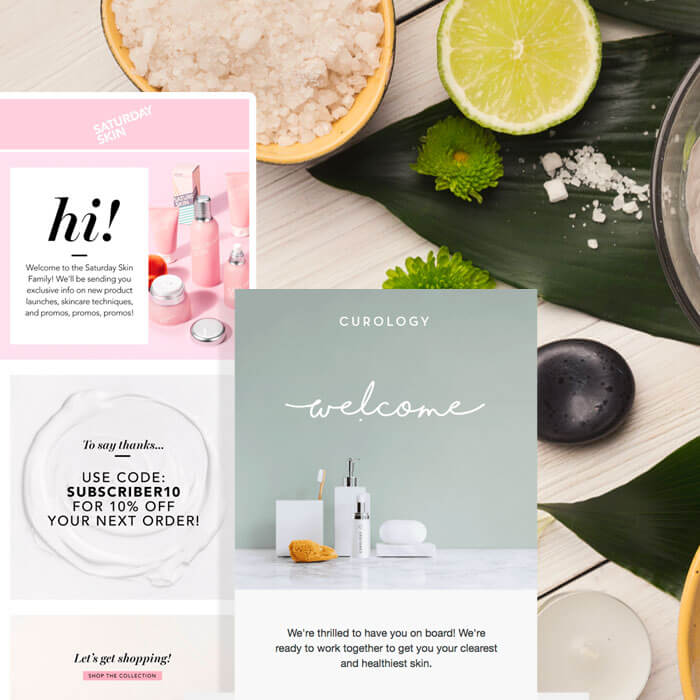 Skin Care Industry Emails With Stunning Designs