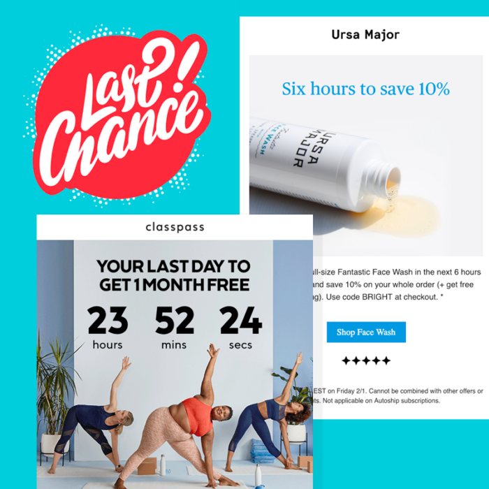 3 Design Strategies for Last Chance Emails
