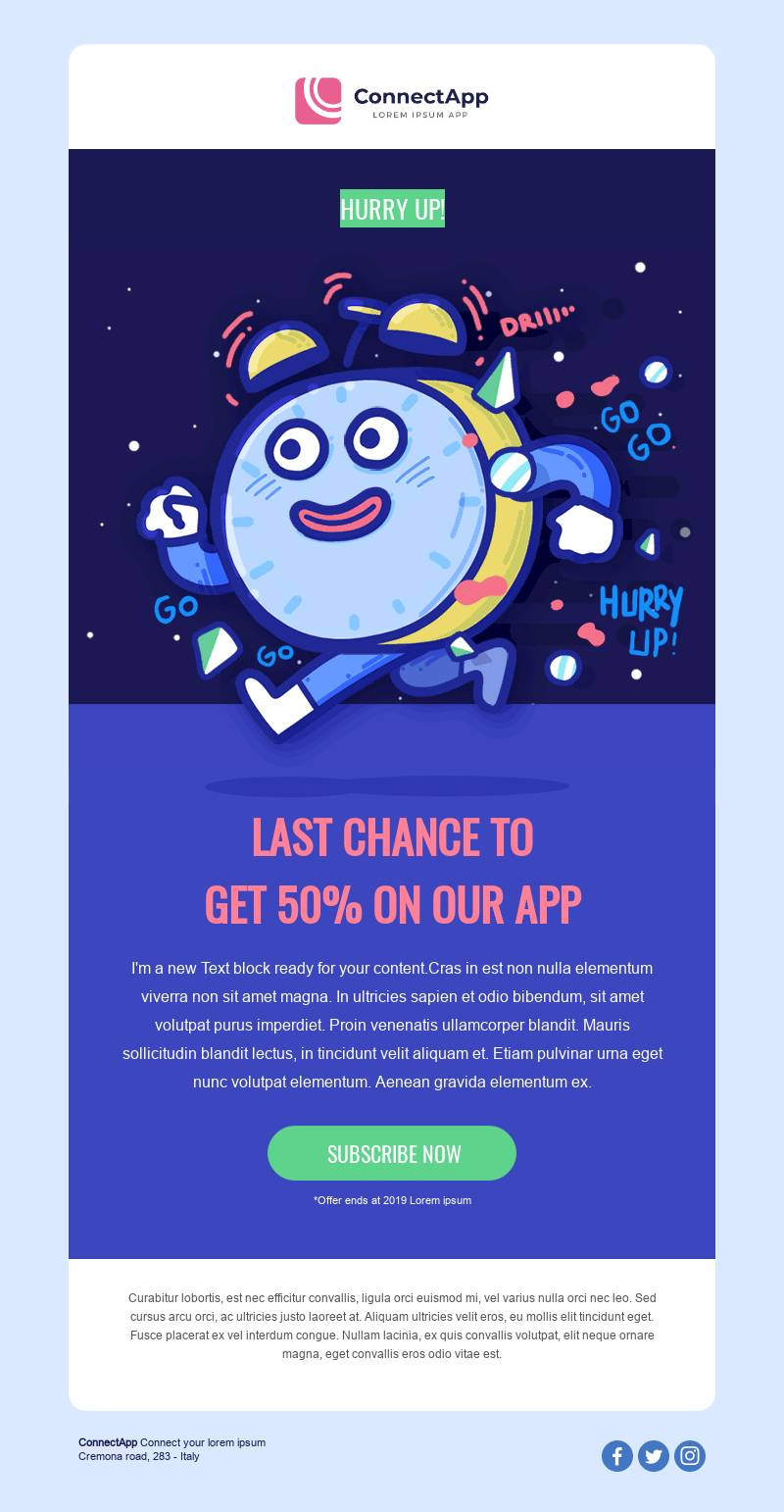 last chance best email marketing templates